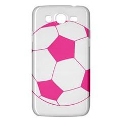 Soccer Ball Pink Samsung Galaxy Mega 5 8 I9152 Hardshell Case