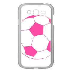 Soccer Ball Pink Samsung Galaxy Grand DUOS I9082 Case (White)