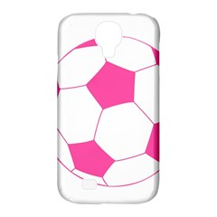 Soccer Ball Pink Samsung Galaxy S4 Classic Hardshell Case (pc+silicone)