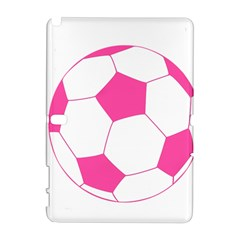 Soccer Ball Pink Samsung Galaxy Note 10.1 (P600) Hardshell Case