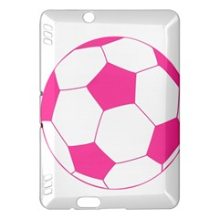 Soccer Ball Pink Kindle Fire Hdx 7  Hardshell Case