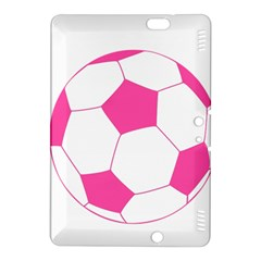 Soccer Ball Pink Kindle Fire HDX 8.9  Hardshell Case
