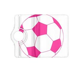 Soccer Ball Pink Kindle Fire HD 7  (2nd Gen) Flip 360 Case