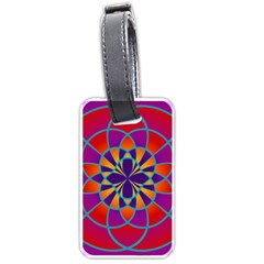 Mandala Luggage Tag (two Sides)