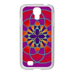 Mandala Samsung GALAXY S4 I9500/ I9505 Case (White)