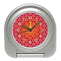 Radial Flower Desk Alarm Clock