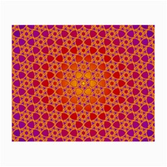 Radial Flower Glasses Cloth (Small, Two Sided)