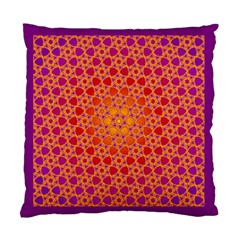 Radial Flower Cushion Case (Two Sided)