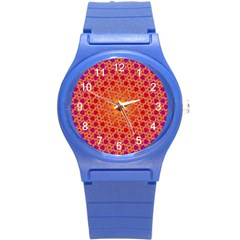 Radial Flower Plastic Sport Watch (Small)