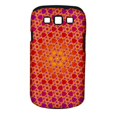 Radial Flower Samsung Galaxy S III Classic Hardshell Case (PC+Silicone)