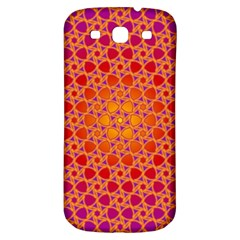 Radial Flower Samsung Galaxy S3 S Iii Classic Hardshell Back Case
