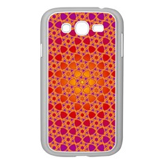 Radial Flower Samsung Galaxy Grand Duos I9082 Case (white)
