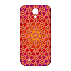 Radial Flower Samsung Galaxy S4 I9500/I9505  Hardshell Back Case