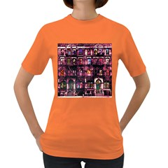 Physical Graffitied Women s T Shirt (colored)