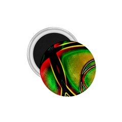Multicolored Modern Abstract Design 1 75  Button Magnet