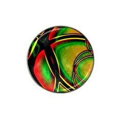 Multicolored Modern Abstract Design Golf Ball Marker 10 Pack (for Hat Clip)