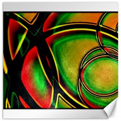 Multicolored Modern Abstract Design Canvas 16  x 16  (Unframed)
