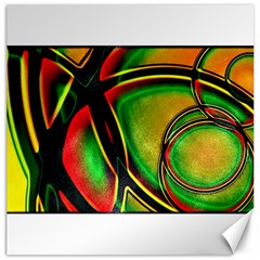 Multicolored Modern Abstract Design Canvas 20  x 20  (Unframed)