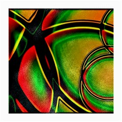 Multicolored Modern Abstract Design Glasses Cloth (Medium, Two Sided)