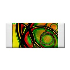 Multicolored Modern Abstract Design Hand Towel