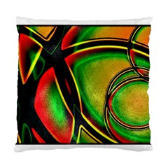 Multicolored Modern Abstract Design Cushion Case (Two Sided)