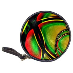 Multicolored Modern Abstract Design Cd Wallet
