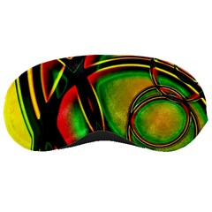Multicolored Modern Abstract Design Sleeping Mask