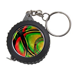 Multicolored Modern Abstract Design Measuring Tape
