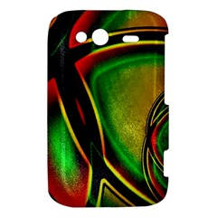 Multicolored Modern Abstract Design HTC Wildfire S A510e Hardshell Case