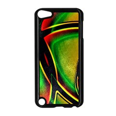 Multicolored Modern Abstract Design Apple iPod Touch 5 Case (Black)