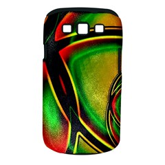 Multicolored Modern Abstract Design Samsung Galaxy S III Classic Hardshell Case (PC+Silicone)