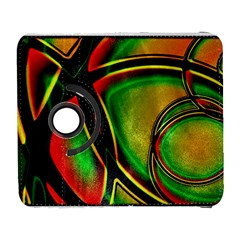 Multicolored Modern Abstract Design Samsung Galaxy S  III Flip 360 Case