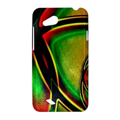 Multicolored Modern Abstract Design HTC Desire VC (T328D) Hardshell Case