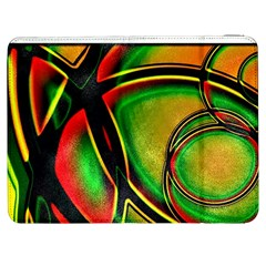 Multicolored Modern Abstract Design Samsung Galaxy Tab 7  P1000 Flip Case
