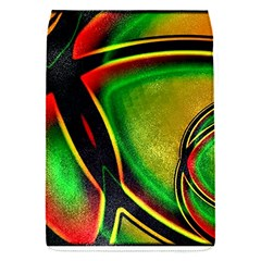 Multicolored Modern Abstract Design Removable Flap Cover (small)