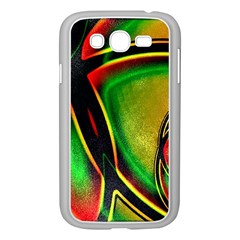 Multicolored Modern Abstract Design Samsung Galaxy Grand DUOS I9082 Case (White)