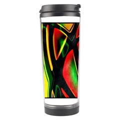 Multicolored Modern Abstract Design Travel Tumbler