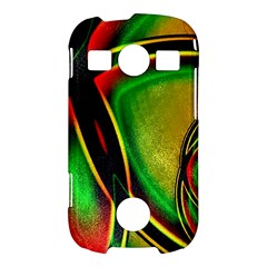 Multicolored Modern Abstract Design Samsung Galaxy S7710 Xcover 2 Hardshell Case