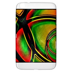 Multicolored Modern Abstract Design Samsung Galaxy Tab 3 (8 ) T3100 Hardshell Case