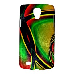 Multicolored Modern Abstract Design Samsung Galaxy S4 Active (I9295) Hardshell Case