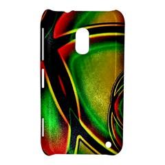 Multicolored Modern Abstract Design Nokia Lumia 620 Hardshell Case