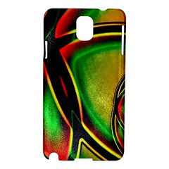 Multicolored Modern Abstract Design Samsung Galaxy Note 3 N9005 Hardshell Case