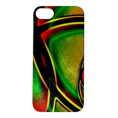 Multicolored Modern Abstract Design Apple Iphone 5s Hardshell Case