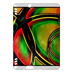 Multicolored Modern Abstract Design Kindle Fire HDX 7  Hardshell Case
