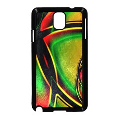 Multicolored Modern Abstract Design Samsung Galaxy Note 3 Neo Hardshell Case (black)