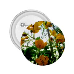 Yellow Flowers 2.25  Button
