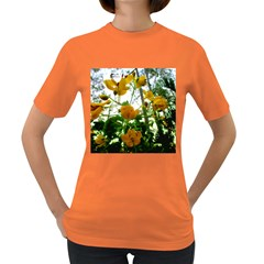 Yellow Flowers Women s T-shirt (Colored)