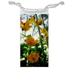 Yellow Flowers Jewelry Bag