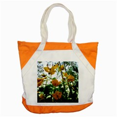 Yellow Flowers Accent Tote Bag