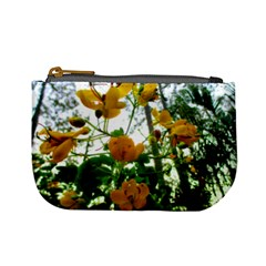 Yellow Flowers Coin Change Purse